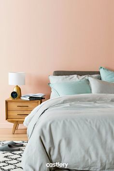Keep yourself cosy this winter with the Flax Collection. Made of French washed linen and environmentally friendly. It gets softer and looks more inviting with time. Bedroom Color Schemes, Bedroom Colors, Bedroom Furniture, Bedroom Decor, Bedroom Ideas, Bedroom Orange, House Beds, Dream Bedroom, Surf Bedroom