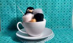 Needlefelt penguin kit $10.00
