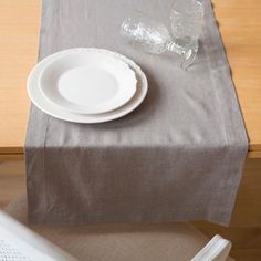 Zara Home New Collection Zara Home, Table Runners, Grey, Tableware, United States, France, America, Flat, Collection