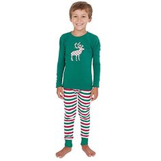 9671b476df Family Pijamas Conjunto GillBerry Navidad XMAS Madre Padre NiñOs Ropa De  Dormir (niños 8
