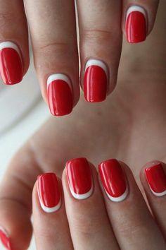 red manicure #red #manicure #love #nails #nailart #beautiful #gelnails #nail #art #naildesign #fashion #gelpolish #nailswag #nailpolish #nailsoftheday Red Manicure, Red Nails, Swag Nails, Red Nail Art, Shades Of Red, Winter Nails, Gel Polish, Nail Colors, Nailart