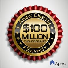 Apex Fuel Card Saves Clients $100 million in truck stop fuel discounts
