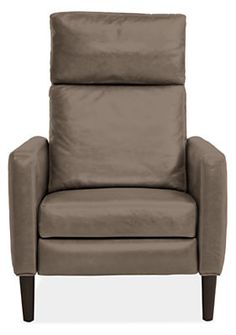 Bram Leather Chair Amp Ottoman Ottomans Living Rooms And Room