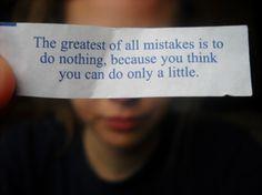 do a little...