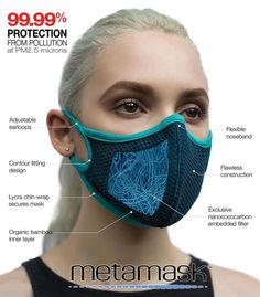 ARIA Style Air Pollution Facemask, Most breathable, protection @ Diy Mask, Diy Face Mask, Face Masks, Nose Mask, Masque Halloween, Mascaras Halloween, Aria Style, Mouth Mask Fashion, Fashion Mask
