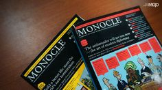 Monocle: The excellent Monocle magazine has the right blend of information on art, marketing and lifestyle, which makes it the perfect read on a relaxing Sunday morning. Monocle contains a vast amount of relevant and motivating articles on innovative marketing and design all over the world; we at ADMOJO love learning about creative communication campaigns happening across the globe as they're a great source of inspiration. #ADMOJO #Monocle
