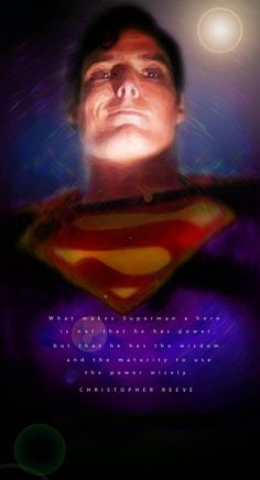 Portrait of Christopher Reeve by Henstepbatbot on Stars Portraits, the biggest online gallery for celebrity portraits. Christopher Reeve, Celebrity Portraits, Online Gallery, Digital Art, Stars, Sterne, Star