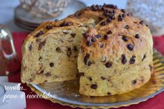 PANETTONE FATTO in CASA SENZA IMPASTO al CIOCCOLATO Piu' Soffice del mondo Xmas Food, Christmas Baking, Raspberry Coffee Cakes, Cake Recipes, Dessert Recipes, Sweet Cooking, Homemade Biscuits, Colorful Cakes, Italian Desserts