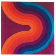Verner Panton / Kurve Textile For Mira-X