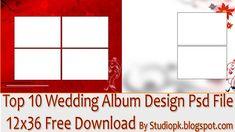 Top 10 Wedding Album Design Psd File 12x36 Free Download