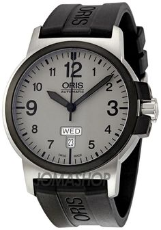 Oris BC3 Sportsman Day Date Grey Dial Mens Watch 735-7641-4361RS $682.52