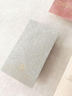 Embossed Business Cards, Foil Business Cards, Luxury Business Cards, Letterpress Business Cards, Elegant Business Cards, Business Card Mock Up, Business Card Design, Velvet Color, Lettering