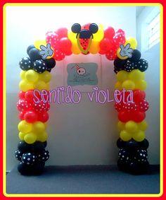 decoracion-globos-SENTIDO VIOLETA GLOBOS BUENOS AIRES