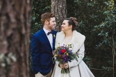 Stylish Winter Bride & Groom | Bliss Photography on @CVBrides via @aislesociety