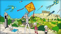 Partants pour une expérience planante avec votre tribu à Athènes ? Sous un ciel de cerfs-volants le 3 mars à Athènes