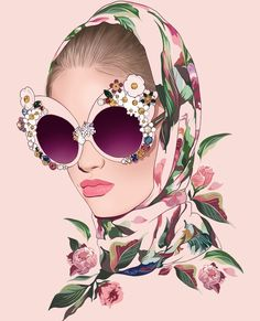 New wallpaper iphone vintage art behance 16 Ideas Art And Illustration, Fashion Illustration Face, Illustrations, Arte Fashion, Fashion Wall Art, Fashion Design, Art Sketches, Art Drawings, Fashion Sketches