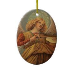 Anjos da arte de renascimento do vintage por Meloz Enfeites Para Arvore De Natal