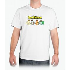 Gentlemon Pikachu - Mens T-Shirt