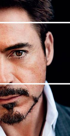 Robert Downey Jr. - the prettiest pair of brown eye I have ever seen.