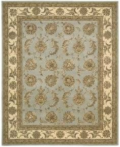 "Nourison Nourison 2000 2022 9'9"" x 13'9"" Blue Cloud Area Rug by Nourison. $3699.00. Nourisons most popular hand-made signature collection features Persian and European designs of pure New Zealand wool, highlighted with intricately detailed designs of genuine pure silk. Offered in a wide assortment of shape and size options, including elegant rounds, high fashion ovals and rectangles - all, of course, in addition to a full assortment of standard room sizes and runners. Specia..."