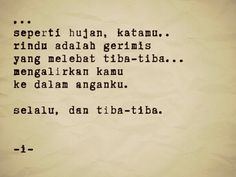 Indonesia#puisi#poetry#hujan