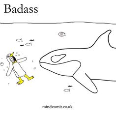 Badass #2. http://mindvomit.co.uk #comics #illustration #animals