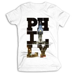 Philly T-shirt from Cheesesteak Tees