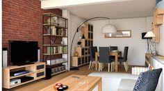 Style industriel séjour à Noisy-le-Grand