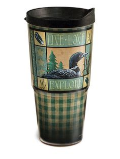 Lodge Series Loon 24 ounce Double-Wall Acrylic Tumbler -- Unbelievable product right here! : Hiking packs