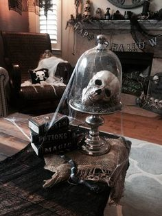 Click this pin to see the hauntingly beautiful setting Gina A. entered in Grandin Road's Spooky Decor Photo Challenge. Gina A. could win one of four $2,500 Grandin Road gift cards. Can you craft an eerily elegant Halloween scene? Enter yourself!