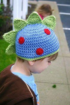 NEW ARRIVAL Crochet Baby Boy Hat Dinosaur Handmade by IlovelyCraft, $15.00