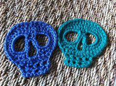 The pattern is partially incorrect, always use the instructions for the second side of the skull.