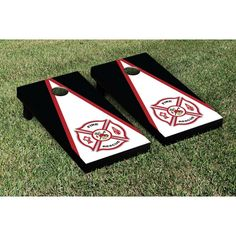 #DIY #Firefighter Idea: Fire Rescue Triangle #Cornhole Game Set. #outdoorgames