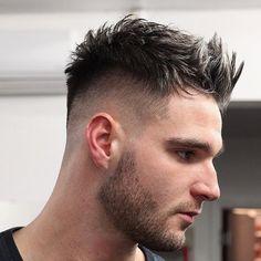 pelo revuelto muy moderno en el 2017
