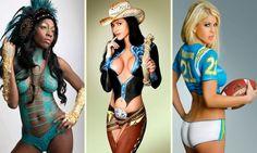 Erotika ízlésesen: a testfestés mint ősi művészet | Pink Domina
