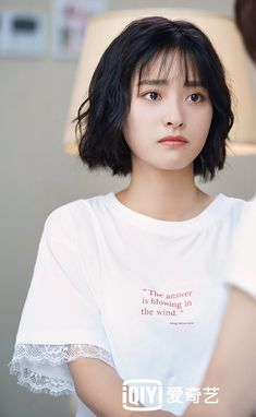 Meteor Garden Cast, Meteor Garden 2018, A Love So Beautiful, Beautiful Asian Women, Short Hair Cuts, Short Hair Styles, Cute Anime Boy, Chinese Actress, Aesthetic Photo