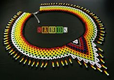 Bead Crafts, Diy And Crafts, Bead Necklaces, Beaded Jewelry, Beads, Rings, Beadwork, Tutorials, Bracelets