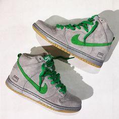 "Nike SB Dunk High Premium ""Gray Box"""