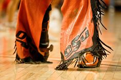 Pistol Pete's boot at Gallagher Iba Arena | Flickr - Photo Sharing!