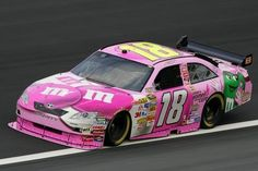 Kyle Busch Pink Car - Don't like Kyle Busch, but I think the car is cool