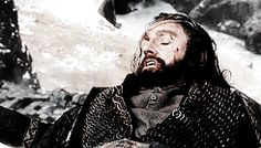 DON'T DIE THORIN DON'T DIE PLEASE *sobs* The whole battle I just felt so helpless...