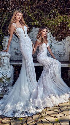 galia lahav bridal spring 2017 sheath mermaid trumpet sweetheart wedding dresses (samantha avena) mv