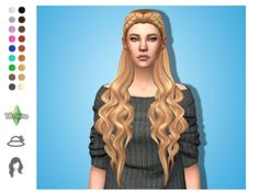 The Sims 4 Maxis Match Custom Content Sims 4 Cas, My Sims, Sims Medieval, The Sims 4 Cabelos, Pelo Sims, Sims 4 Dresses, Sims 4 Mm Cc, Best Mods, Sims Hair