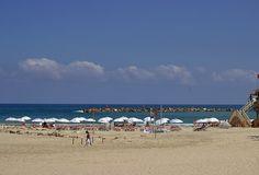 One of Tel Aviv's beaches, June 17 #beach #telaviv