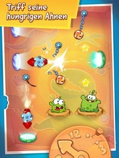 Cut the Rope | iPad iPhone | Kinder Apps