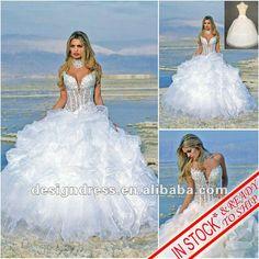 Robes de mariage occasionnelles sexy de plage 2012 en stock W1-Jupe extra large-Id du produit:573514834-french.alibaba.com