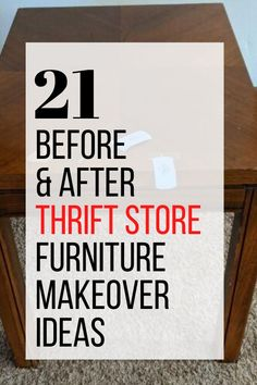 Thrift Store Furniture, Diy Furniture Easy, Paint Furniture, Furniture Makeover, Redoing Furniture, Diy Crafts For Adults, Diy Arts And Crafts, Decor Crafts, Upcycled Furniture Before And After