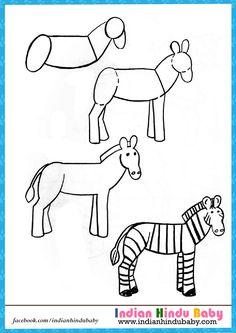 como dibujar animales fcilmente para nios dibujos fciles pinterest