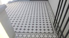 London Mosaic - Octagon and Dot Ceramic Tiles