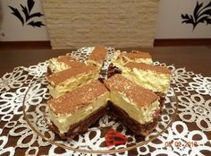 Már a látványa is fenséges! Hungarian Recipes, Winter Food, Tiramisu, Healthy Living, Dessert Recipes, Food And Drink, Drinks, Sweet, Ethnic Recipes